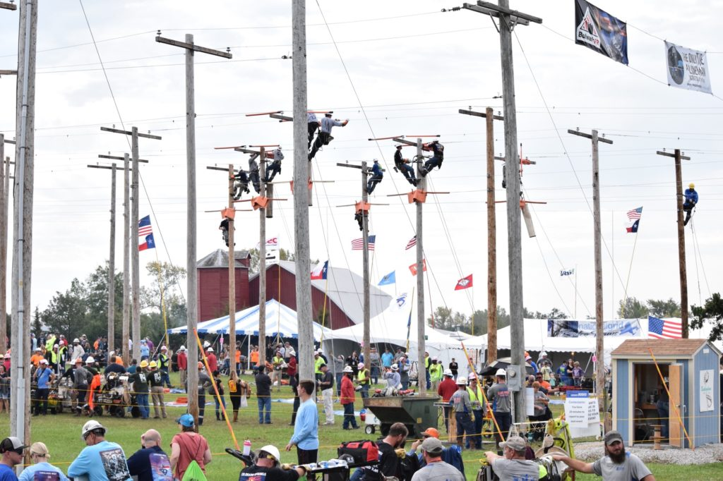 Lineman's Expo and Rodeo Rodeo Grounds.