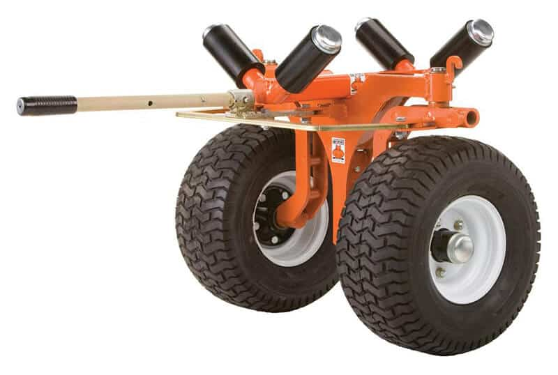 2-wheel telephone pole dolly