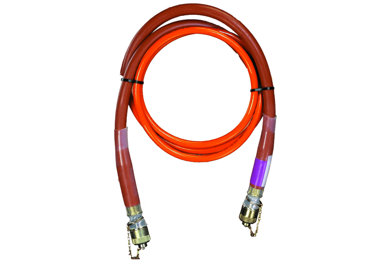 Huskie Tools 10Ft. high-pressure, non-conductive NC-SERIES hydraulic hoses